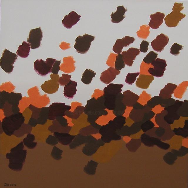 EVA ROUWENS - Automne - 87 x 87 cm