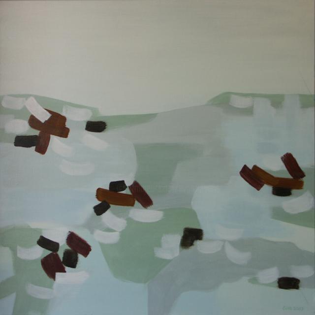 EVA ROUWENS - Hiver 2 - 87 x 87 cm