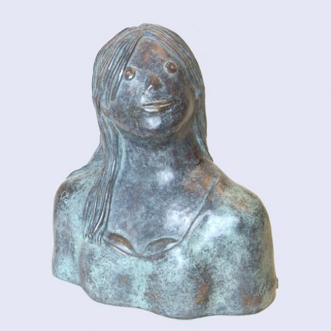 EVA ROUWENS - Lucie - bronze 2/8 26 cm