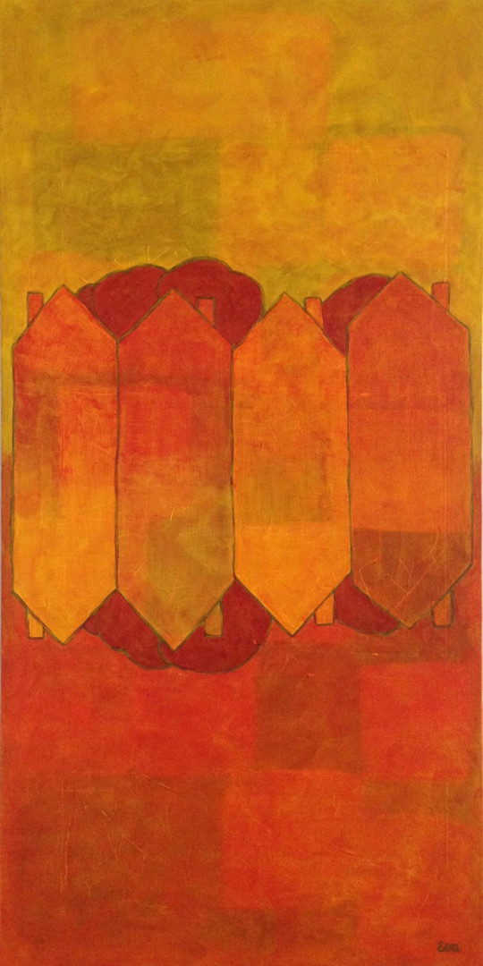 EVA ROUWENS - DOUBLE 80 x 40 cm