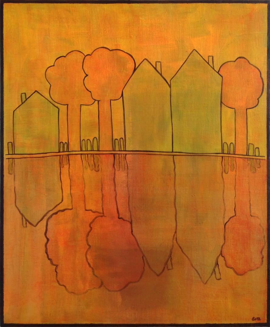 EVA ROUWENS - MIRROR - 60 x 73 cm