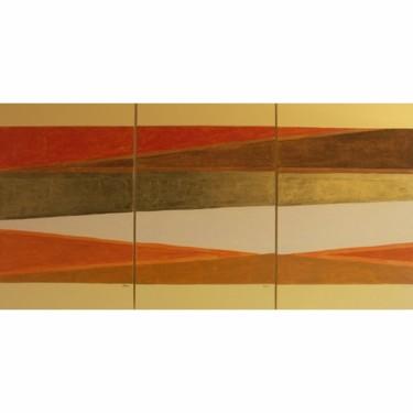Or et lumière -183 x 92 cm