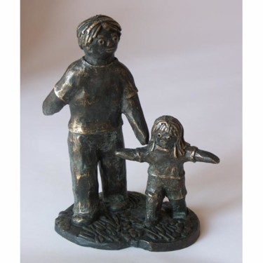 Jeu - bronze P.U. 15 cm