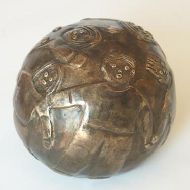 Foule - bronze P.U. 12 cm