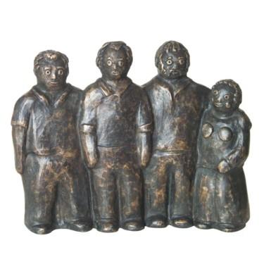 4 amis - bronze 1/8 18 cm