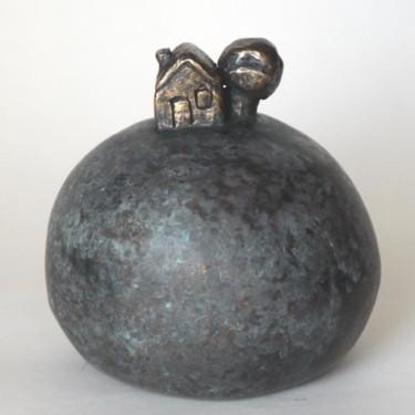 Une maison - bronze P.U. 12 cm
