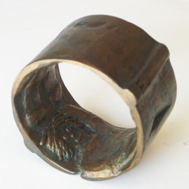 anneau-bronze P.U. 9 cm