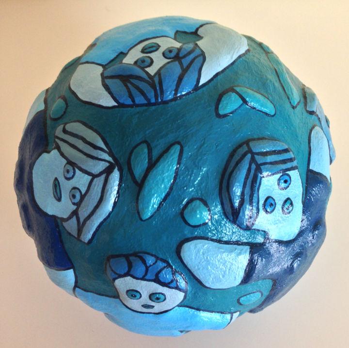 EVA ROUWENS - Bleus - 16cm