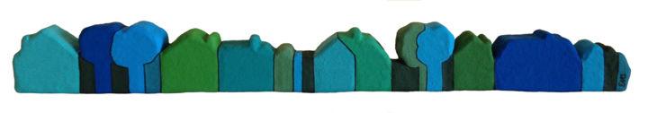 7 maisons - 72 cm