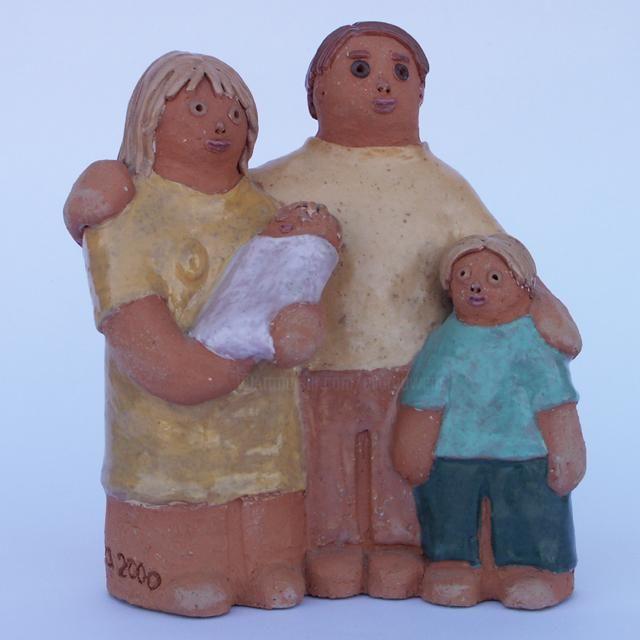 Famille allemande - 18 cm