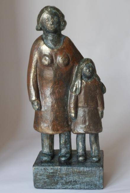 EVA ROUWENS - Moeder en dochter - 40 cm