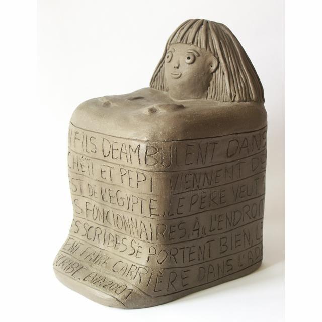 EVA ROUWENS - Le scribe - 27 cm