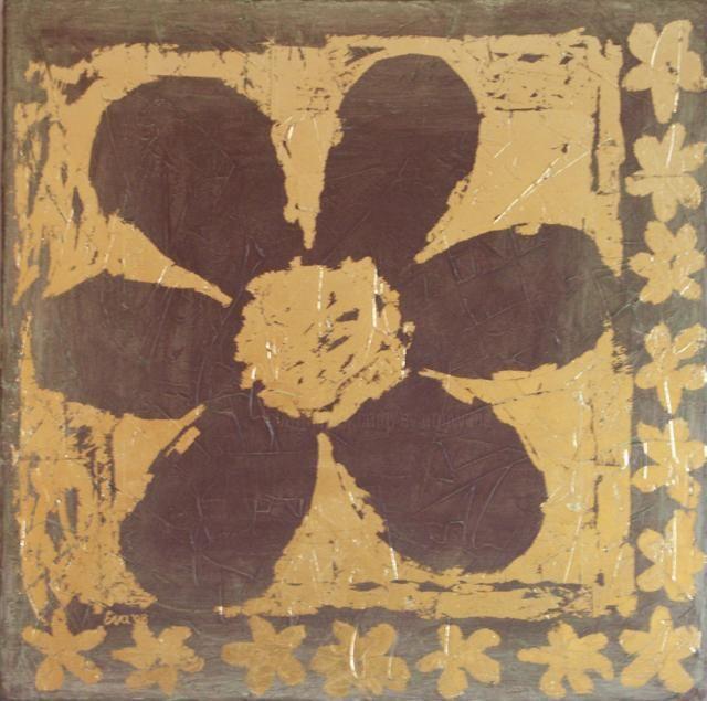 EVA ROUWENS - Fleur - 60 x 60 cm