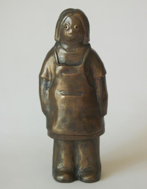 EVA ROUWENS - Lena - bronze P.U. 16 cm
