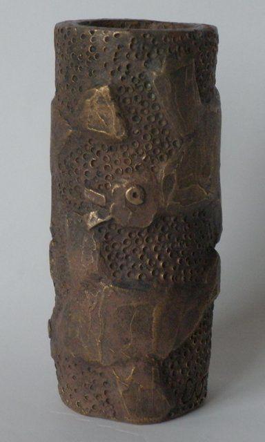 EVA ROUWENS - Baguette oiseaux - bronze P.U.