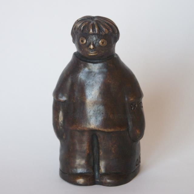 Wim - bronze 2/8 12 cm