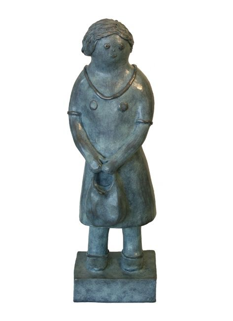 EVA ROUWENS - Marie - bronze  2/8 - 53 cm
