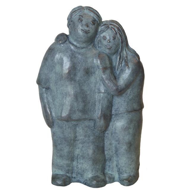EVA ROUWENS - Complices - bronze 1/8 28 cm