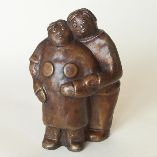 EVA ROUWENS - Toujours amoureux - bronze 7/8 - 19 cm