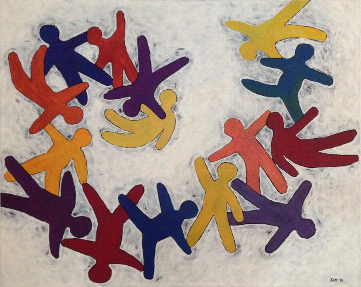 EVA ROUWENS - Vertigo - 65 x 81 cm