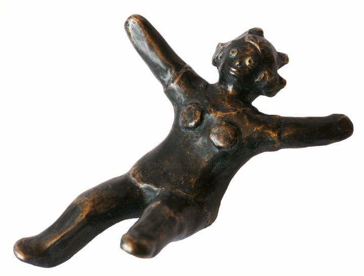 EVA ROUWENS - Funny- bronze P.U. - 15 cm