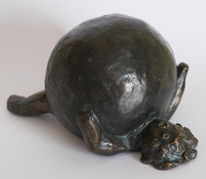 Help - bronze - 14 cm