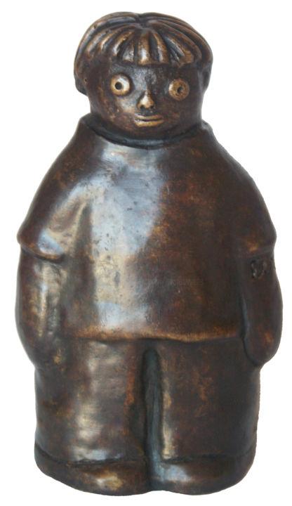 EVA ROUWENS - WIM - bronze 3/8 12 cm